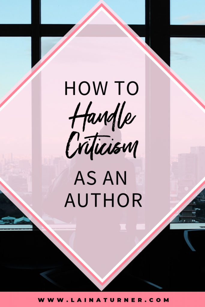 How to Handle Criticism as an Author