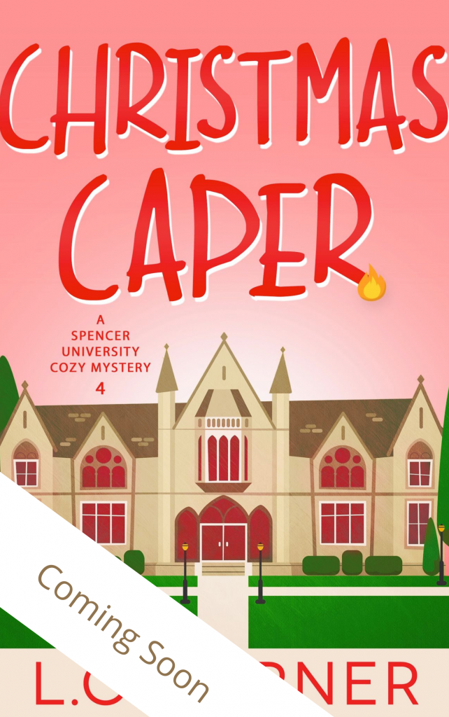 Christmas Caper A Spencer University Cozy Mystery Book 4